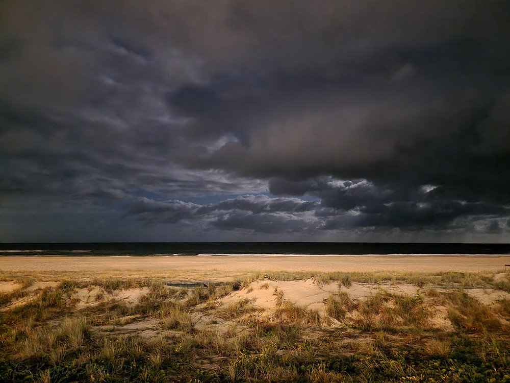 Twilight at Coolangatta Beach