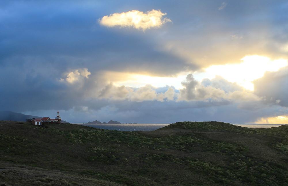 Cape Horn Lighthouse - Sunrise at Cape Horn