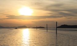 Sunrise in Thailand