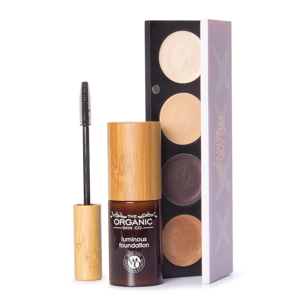 Mascara, Foundation, Eyeshadow and Lipstick