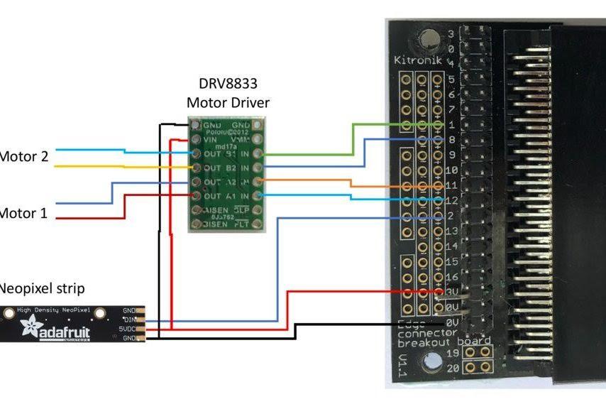 Micro:bit Edge Connector Wiring