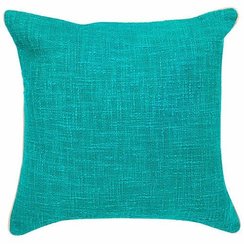 Peacock Boucle Cushion