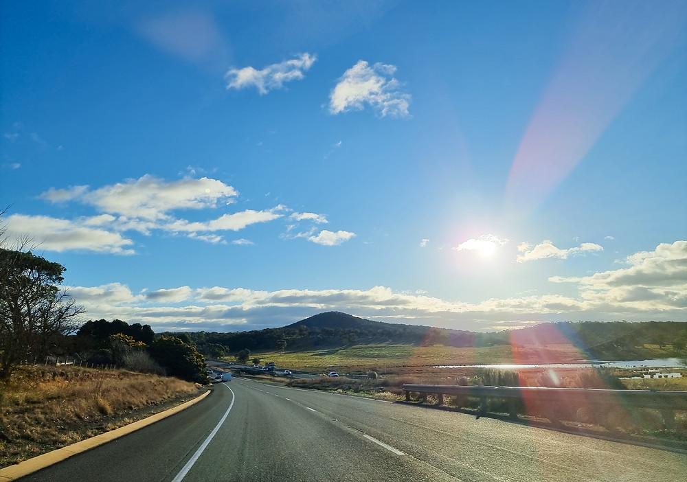 Highway near Goulburn