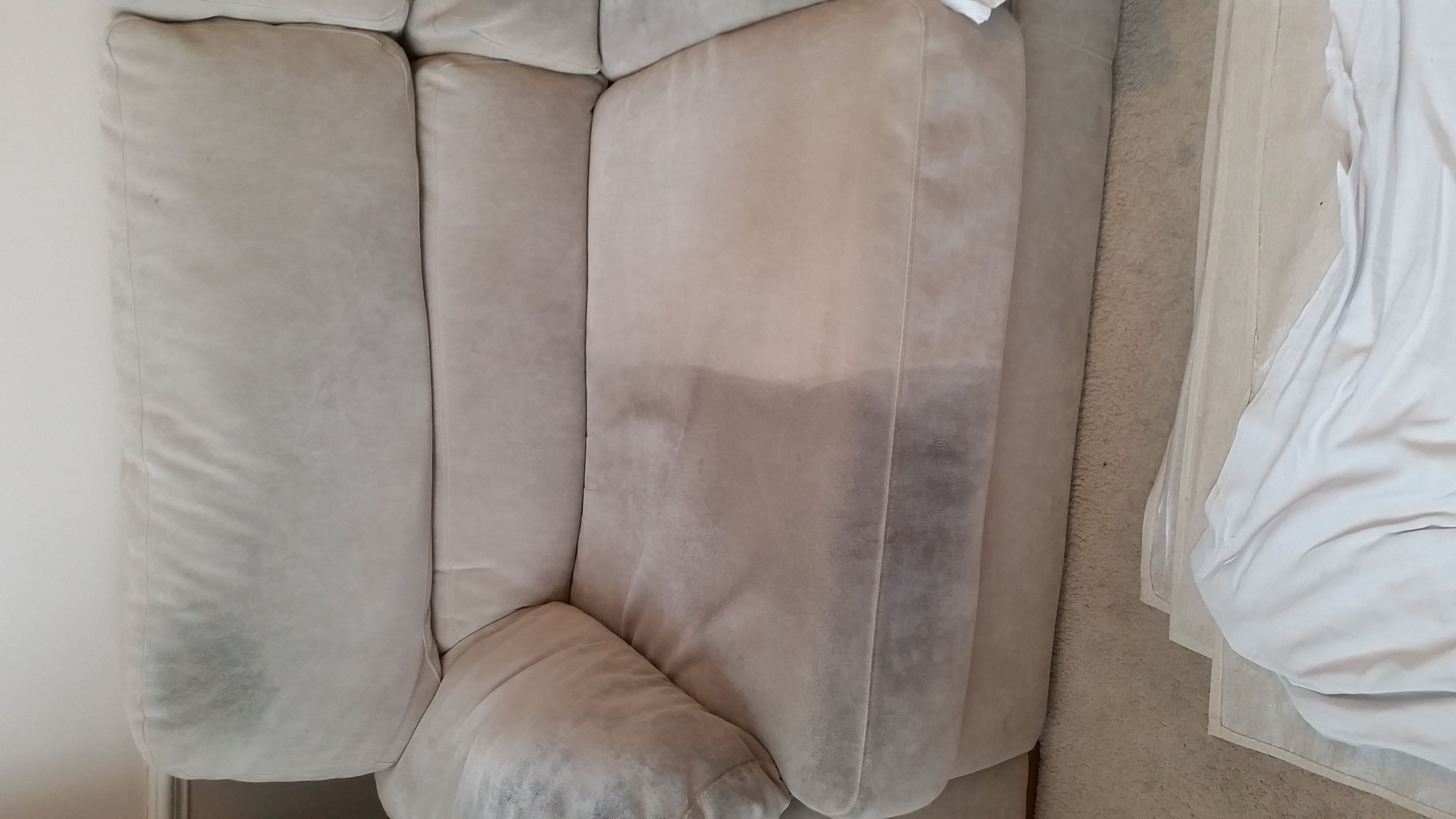Sofa - Before and After