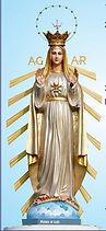 Mediatriax of All Graces Mother of God Batim Goa India