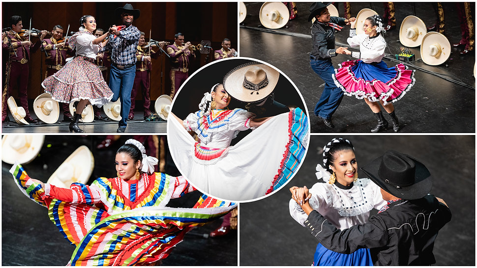 Anita N. Martinez Ballet Folklorico Dancers in performance