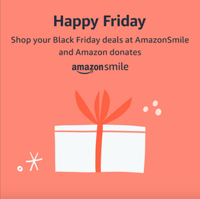 We are on Amazon Smile!