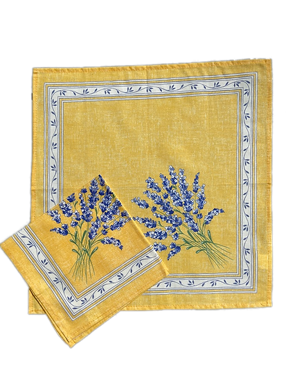 Valensole Yellow Cotton Napkins