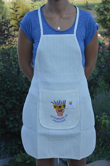 Le Tournesol de Provence Waffle Weave Apron