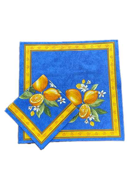 Citron Blue Napkin