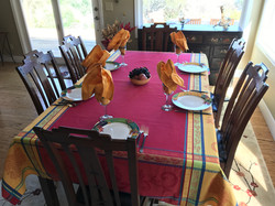 Seguret Jacquard Tablecloth