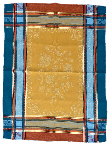 Ramatuelle Saffron Dish Towel