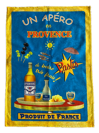 Printed French Dish Towels