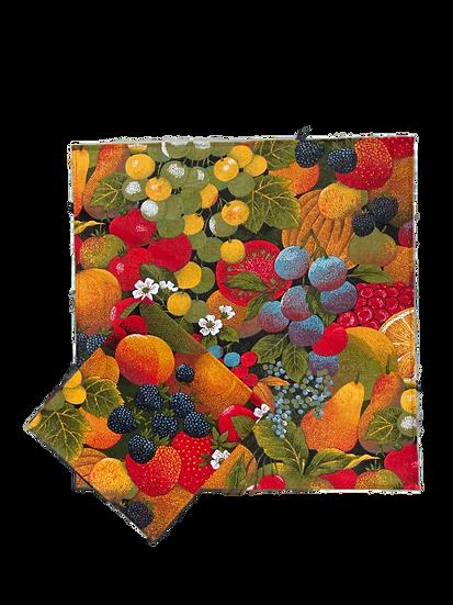 Les Fruits Cotton Napkin