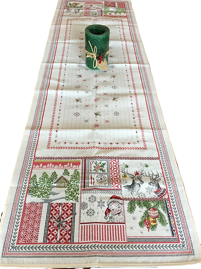 Merry Holiday Table Runner