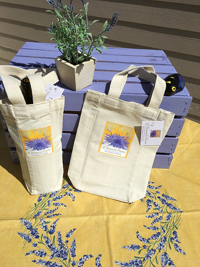 Cotton Canvas Wine/Gift Bags
