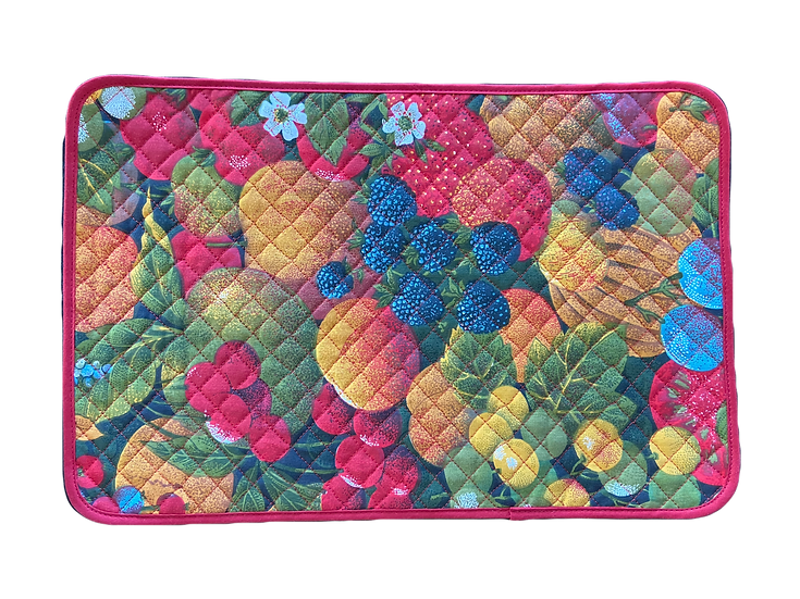 Les Fruits Quilted Placemats