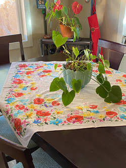 Painted Poppies Tabletopper