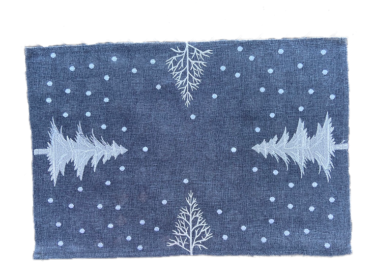 Embroidered Sapin Placemats