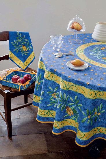 La Cigale Coated Cotton Tablecloth