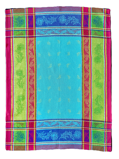 Sunflower Dish Towels: Turquoise