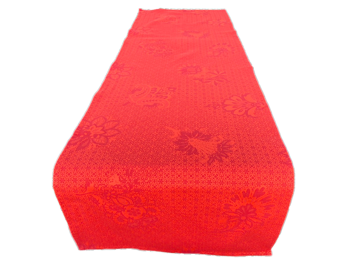 Ribeauville Red Jacquard