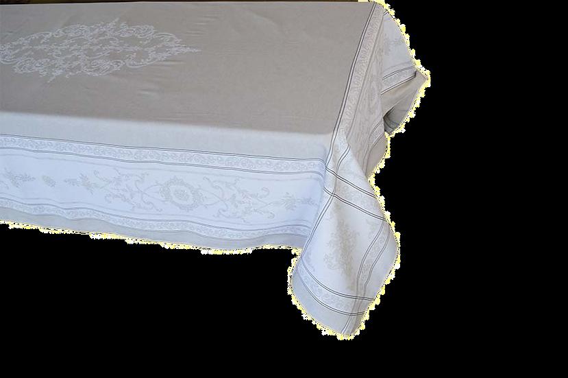 Montmireil Linen Jacquard Tablecloth