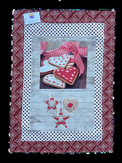 Biscuits de Noel Printed Dish Towel