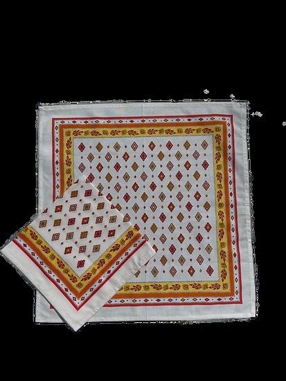 Mirabeau Cotton Napkins: Orange