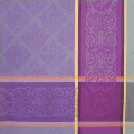 Prestige Jacquard Napkins: Purple