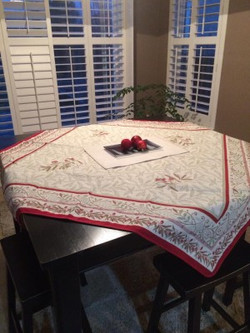 Auriol Quilted Tablecloth