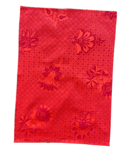 Ribeauville Dish Towels: Red