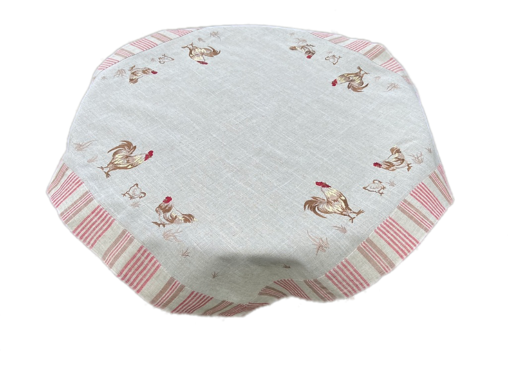 Rooster 33x33 Table Topper