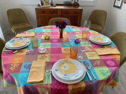 Lourmarin Jacquard Tablecloth