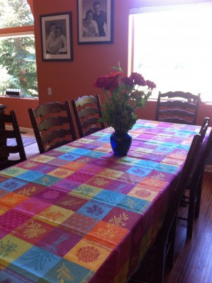 Lourmarin Multi-Color Tablecloth
