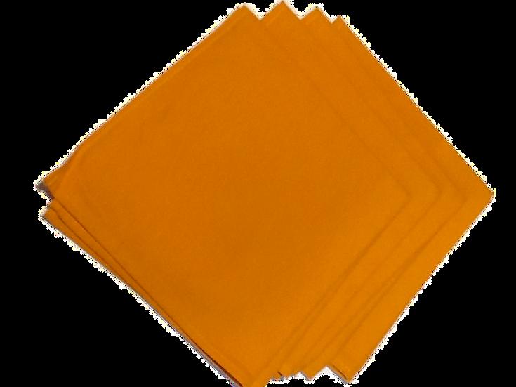 Solid Color Gold Napkins