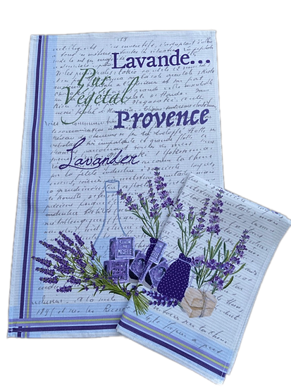 New Lavender Dish Towels