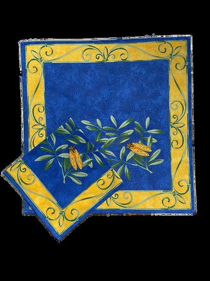 Cigale Blue Napkin