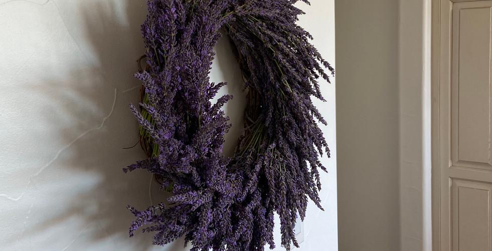 English Lavender Wreath