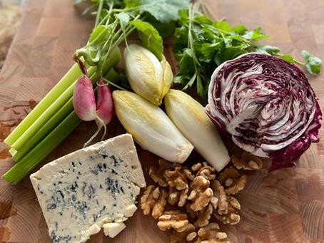 La Salade aux Escaroles et au Roquefort