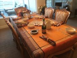 Carpe Diem Jacquard Tablecloth