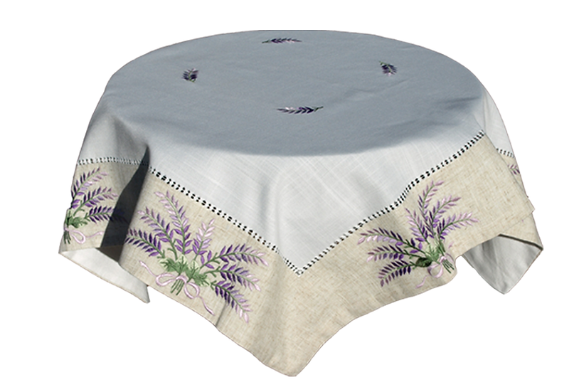 "Lavender 1 66""x66""Tablecloth"