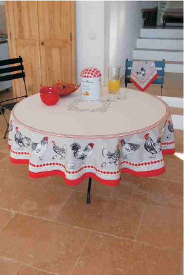 Ferme Country Coated Cotton Tablecloths