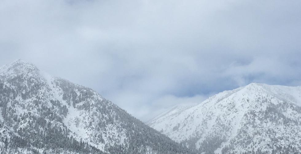 Winter in the Sierras