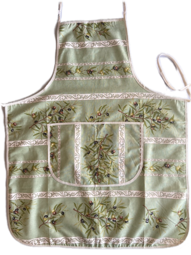 Green Olive Cotton Aprons