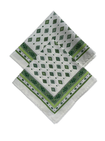 Mirabeau Cotton Napkins: Green