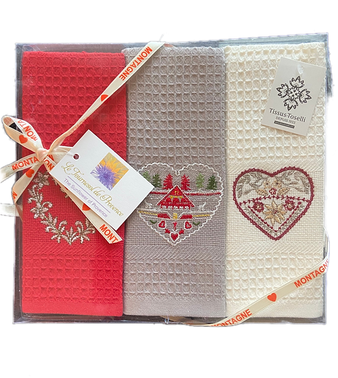 Holiday Gift Pack-3 Dish Towels