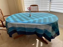 Ondine Jacquard Tablecloth