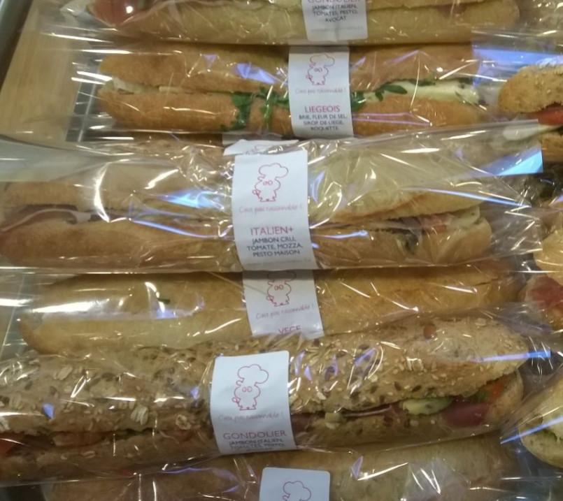 les sandwiches
