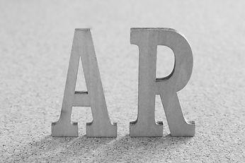 立体的なARの文字